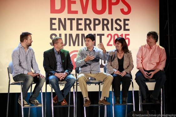 DevOps Enterprise Summit panel
